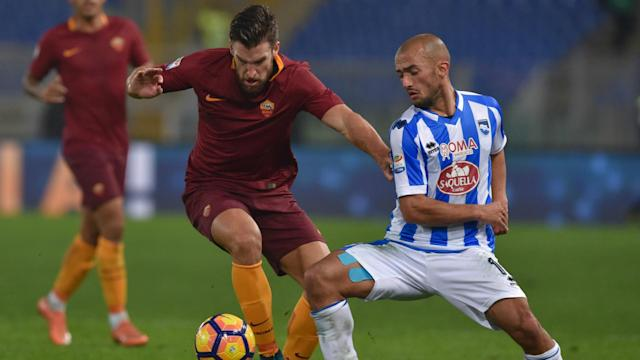 Kevin Strootman Roma Pescara Serie A 27112016
