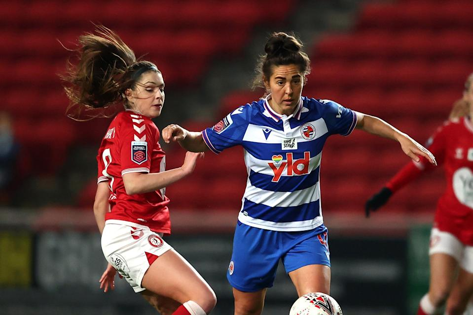 <p>England legend Fara Williams has been playing for Reading Women since 2017</p> (Getty Images)