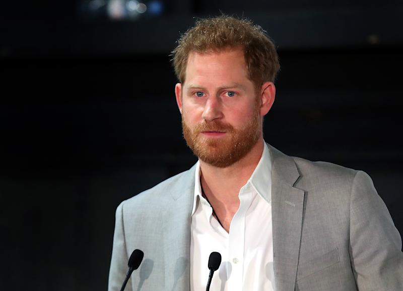 LONDON, ENGLAND - JUNE 12: Prince Harry, Duke of Sussex attends the launch of Made by Sport at Black Prince Trust on June 12, 2019 in London, England. Made by Sport is a new campaign bringing together a coalition of charities supporting disadvantaged young people through sport. (Photo by Chris Jackson/Getty Images)