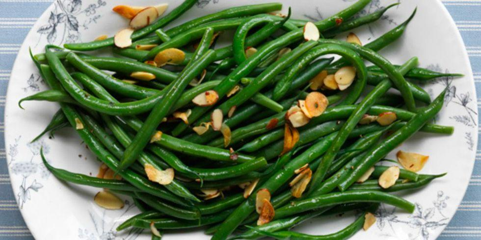 "<p>Green beans are an <a rel=""nofollow"" href=""https://www.womansday.com/food-recipes/g3170/vegetable-side-dishes/"">essential side dish</a> for any dinner table  -  <a rel=""nofollow"" href=""https://www.womansday.com/thanksgiving-recipes/"">especially on Thanksgiving</a>. But not all recipes are made equally. Try one of these dishes that include everything from bacon-infused broth to lemon vinaigrette this holiday.</p>"
