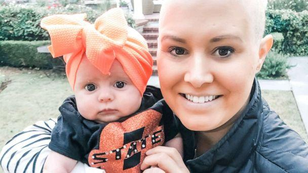 PHOTO: Brooke Clay Taylor learned she had breast cancer the same day she gave birth to her daughter, Elsie James. (Brooke Clay Taylor)