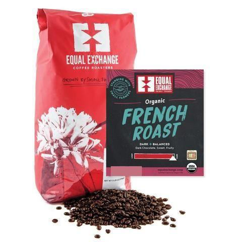 """<p>equalexchange.coop</p><p><strong>$55.00</strong></p><p><a href=""""https://shop.equalexchange.coop/collections/bulk-coffee/products/organic-french-roast-coffee-5lb"""" rel=""""nofollow noopener"""" target=""""_blank"""" data-ylk=""""slk:BUY NOW"""" class=""""link rapid-noclick-resp"""">BUY NOW</a></p><p>Not only can you feel good about buying from Equal Exchange (more on their practices and worker-owned business <a href=""""https://equalexchange.coop/worker-owned"""" rel=""""nofollow noopener"""" target=""""_blank"""" data-ylk=""""slk:here"""" class=""""link rapid-noclick-resp"""">here</a>), but you can also rest easy knowing you have an excellent chocolate-heavy cup of coffee waiting for you in the A.M.</p>"""