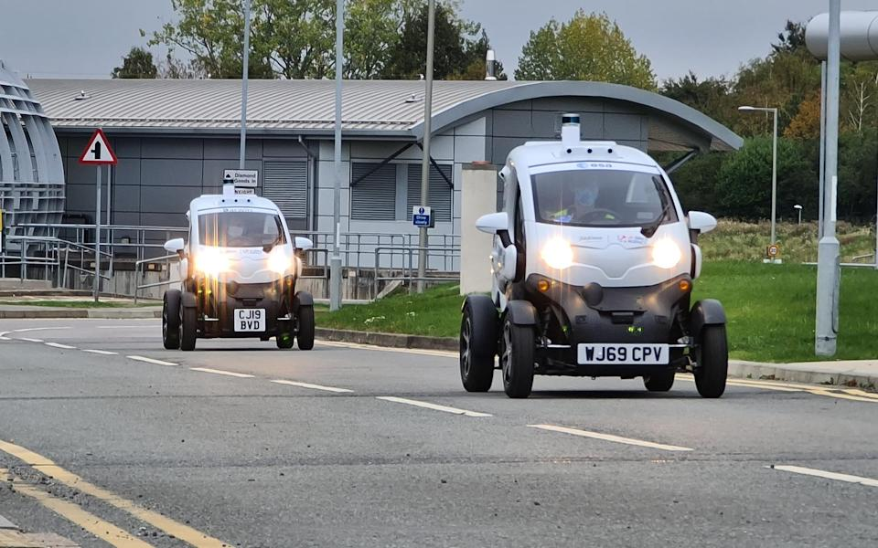 The driverless cars in Oxford