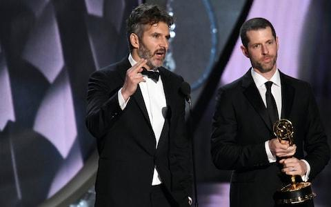 Bad writers? Game of Thrones showrunners David Benioff and DB Weiss - Credit: Rex