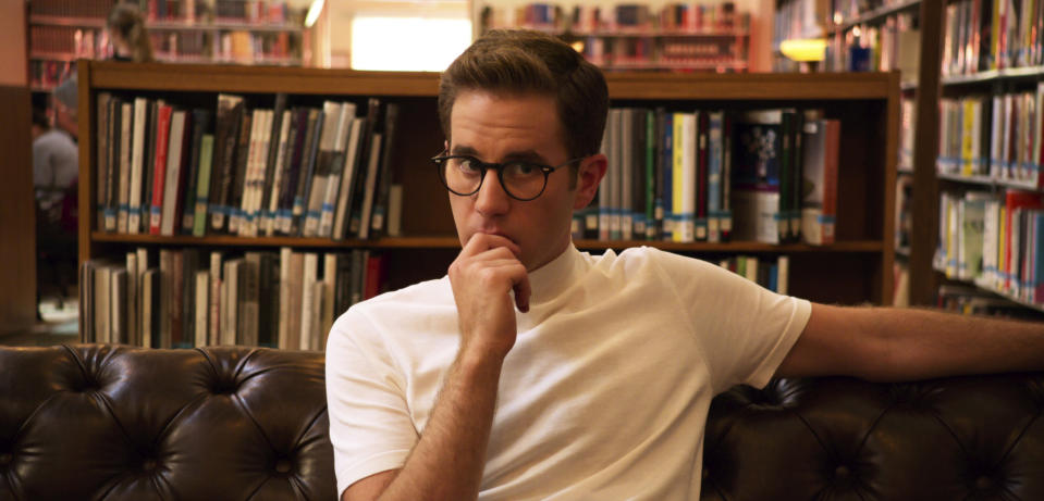 """This image released by Netflix shows Ben Platt in a scene from """"The Politician."""" The program was nominated for a GLAAD Award for outstanding drama series. (Netflix via AP)"""