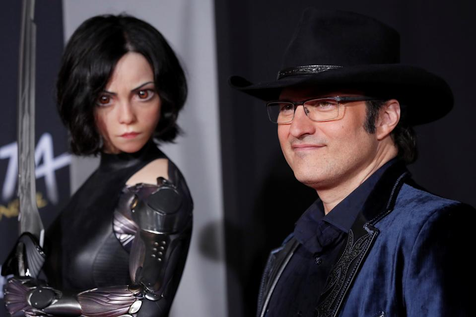"Director Robert Rodriguez poses at the premiere for the movie ""Alita: Battle Angel"" in Los Angeles, California, U.S., February 5, 2019. REUTERS/Mario Anzuoni"