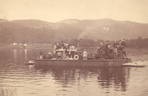 A boat ride on Lake Windermere - Credit: 2008 Getty Images/Henry Guttmann Collection
