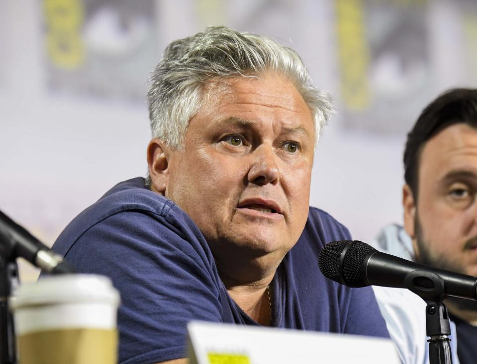 "SAN DIEGO, CALIFORNIA - JULY 19: Conleth Hill at ""Game Of Thrones"" Comic Con Autograph Signing 2019 on July 19, 2019 in San Diego, California. (Photo by Jeff Kravitz/FilmMagic for HBO)"