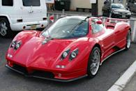 <p>Argentinian Horacio Pagani had no intention of being taken lightly when he created the Zonda supercar. With its powerful Mercedes-based V-12, Pagani's powerhouse has received widespread acclaim year after year.</p>