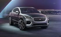 """<p>New EVs could be automakers' big chance to fix the troublesome model naming structure. Or not. The <a href=""""https://www.caranddriver.com/jaguar/e-pace"""" rel=""""nofollow noopener"""" target=""""_blank"""" data-ylk=""""slk:Jaguar E-Pace"""" class=""""link rapid-noclick-resp"""">Jaguar E-Pace</a> isn't an EV, that would be the <a href=""""https://www.caranddriver.com/jaguar/i-pace"""" rel=""""nofollow noopener"""" target=""""_blank"""" data-ylk=""""slk:I-Pace"""" class=""""link rapid-noclick-resp"""">I-Pace</a>. Because of course it is. The gas-powered E-Pace offers a choice between two powertrains: a 246-hp turbocharged four-cylinder and a 296-hp version for the top P300 trim. We liked the way the E-Pace drove, even though its hefty curb weight hurt acceleration. After tossing it around twisties and rural back roads, the E-Pace's soul revealed itself, but its high starting price puts it in competition with larger, more useful <a href=""""https://www.caranddriver.com/features/g15377603/luxury-small-compact-suv/"""" rel=""""nofollow noopener"""" target=""""_blank"""" data-ylk=""""slk:compact luxury crossovers"""" class=""""link rapid-noclick-resp"""">compact luxury crossovers</a>. Every E-Pace has all-wheel drive and an 11.4-inch infotainment touchscreen. The 22 cubic feet of rear cargo space is a plus too, but Jaguar had to sacrifice space for passengers in the back seat to pull that off. </p><ul><li>Base price: $42,045</li><li>EPA Fuel Economy combined/city/highway: 23/20/26 mpg (2.0L)</li><li>Rear cargo space: 22 cubic feet</li></ul><p><a class=""""link rapid-noclick-resp"""" href=""""https://www.caranddriver.com/jaguar/e-pace/specs"""" rel=""""nofollow noopener"""" target=""""_blank"""" data-ylk=""""slk:MORE E-PACE SPECS"""">MORE E-PACE SPECS</a></p>"""