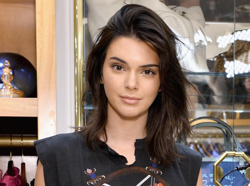 Kendall Jenner is a metal queen in her latest lewk