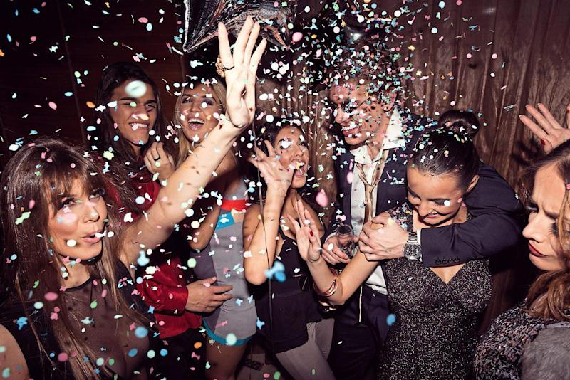Party on: London's party scene is about more than just drinking these days: Getty Images