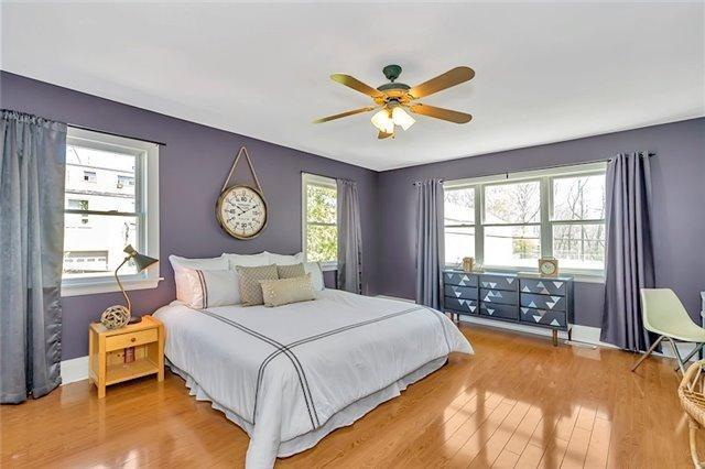 <p><span>9 East Rd., Toronto, Ont.</span><br> The master bedroom is a massive 255 square feet.<br> (Photo: Zoocasa) </p>