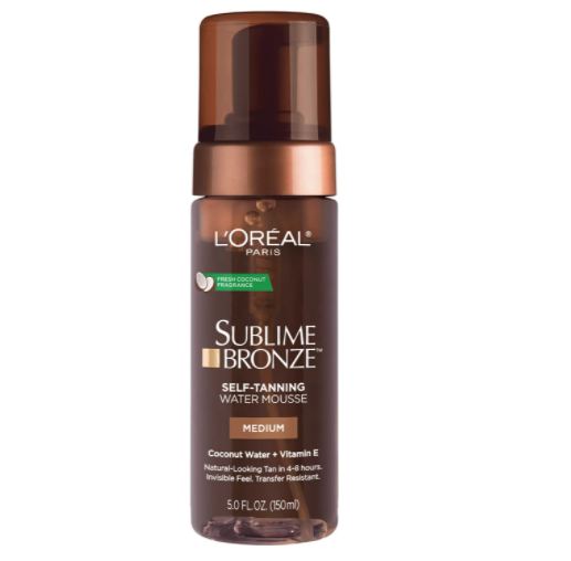"<p><strong>L'Oreal Paris</strong></p><p>amazon.com</p><p><strong>$9.59</strong></p><p><a href=""https://www.amazon.com/dp/B07G9777Z8?tag=syn-yahoo-20&ascsubtag=%5Bartid%7C10055.g.127%5Bsrc%7Cyahoo-us"" rel=""nofollow noopener"" target=""_blank"" data-ylk=""slk:Shop Now"" class=""link rapid-noclick-resp"">Shop Now</a></p><p>In an almost unheard-of feat for a self-tanner, this watery L'Oréal Paris mousse <strong>i</strong><strong>nfused with coconut juice and castor oil collected perfect points for its ""pleasant"" tropical scent.</strong> Plus, it came out on top for being easy to use and tied for cleanest application, being easiest to spread, and getting absorbed fastest. It left skin ""buttery soft"" after application, one tester marveled. </p>"