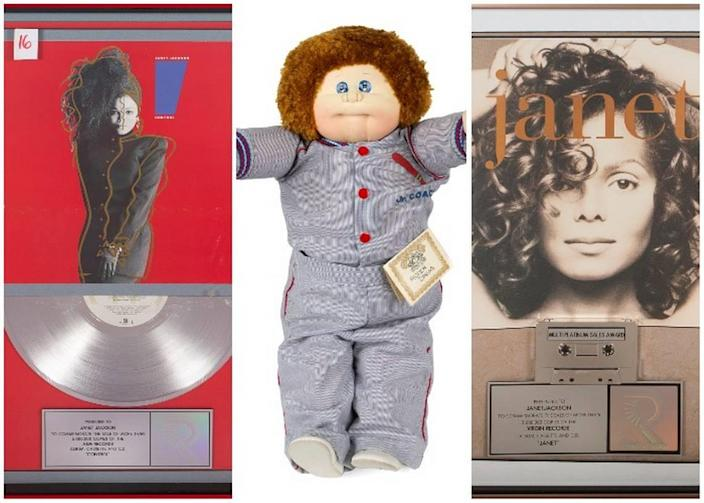 Items featured in the auction span Jackson's 40 year musical career and personal life.