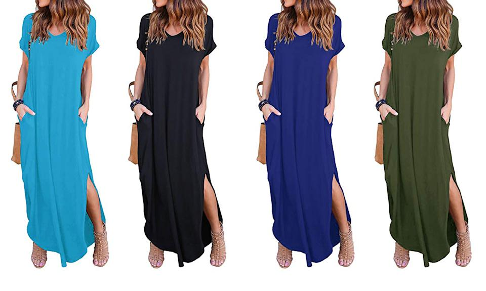 Shop this best-selling Amazon maxi dress by Grecerelle in 29 different colors/styles.