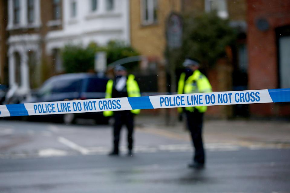<p>A police cordon</p> (Getty Images)