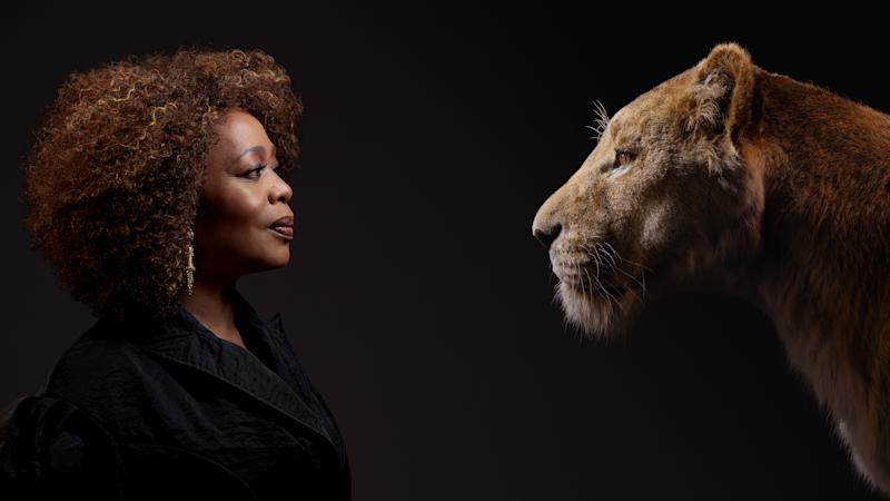 Alfre Woodard as Simba's mum Sarabi. Photo: Disney
