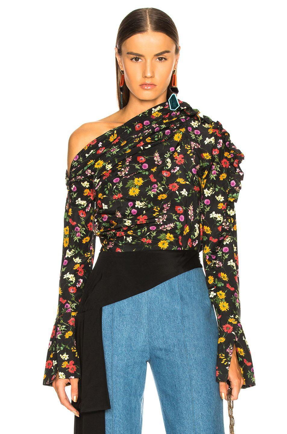 You can never have enough pretty blouses. Available in sizes 0 to 8.