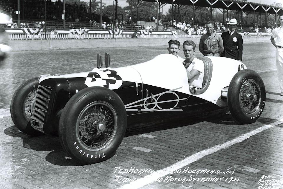 """The Miller-Ford V8 was a nice looking car, but its mechanical layout would be its downfall. <span class=""""copyright"""">Indianapolis Motor Speedway</span>"""