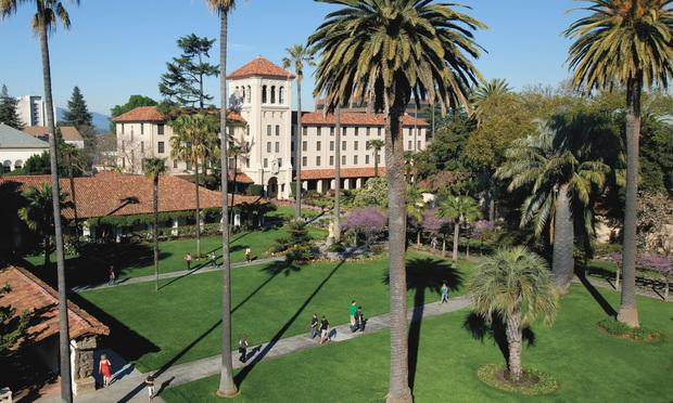 Santa Clara University. Courtesy photo.