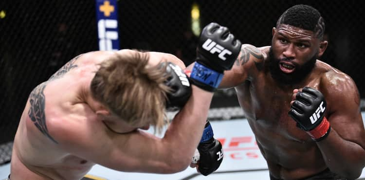 Curtis Blaydes routes Alexander Volkov in UFC on ESPN 11 main event