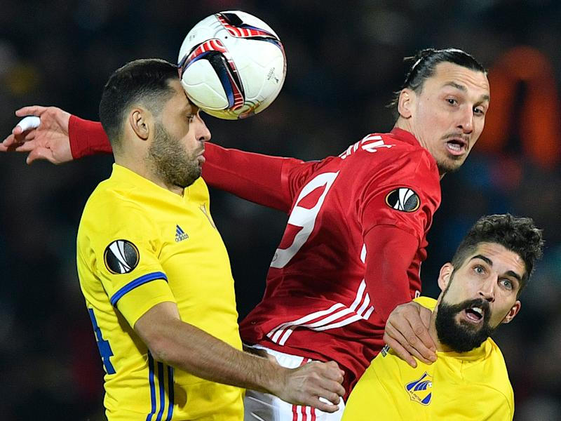 Manchester United came away from Rostov-on-Don with a handy 1-1 draw last week: Getty