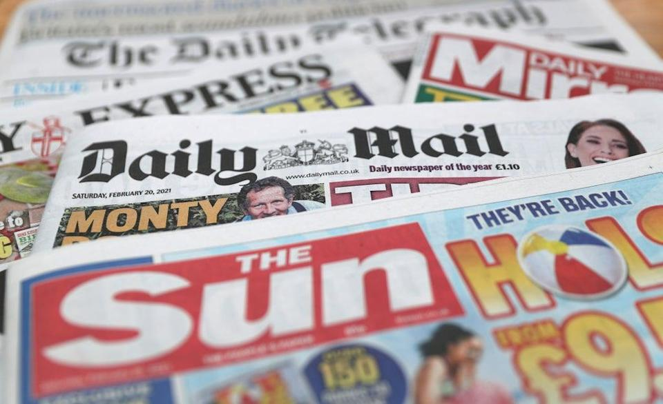 What the papers say – August 29 (PA) (PA Archive)