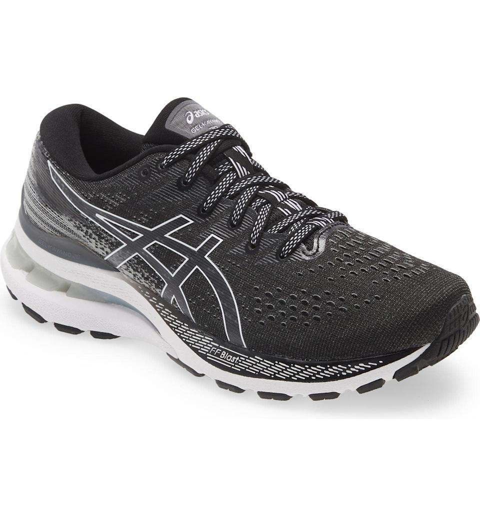 <p>This <span>Asics Gel-Kayano 28 Sneaker</span> ($160) will feel supportive with every step, whether you take it on morning jogs or neighborhood walks with friends in town. </p>