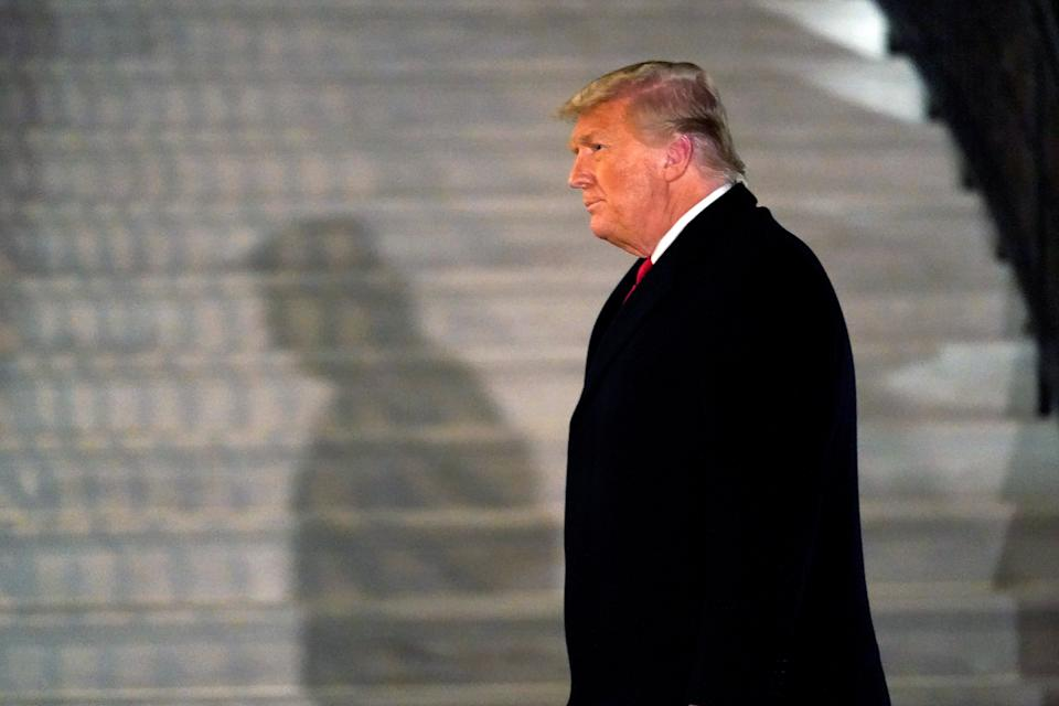<p>Trump's exit from the White House may not be the end of a number of investigations</p> (AP)