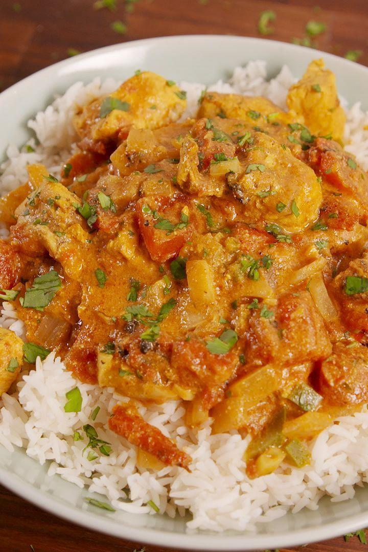 """<p>Your slow cooker has never produced something so delicious (seriously). </p><p>Get the <a href=""""https://www.delish.com/uk/cooking/recipes/a29469043/crock-pot-butter-chicken-recipe/"""" rel=""""nofollow noopener"""" target=""""_blank"""" data-ylk=""""slk:Slow Cooker Butter Chicken"""" class=""""link rapid-noclick-resp"""">Slow Cooker Butter Chicken</a> recipe. </p>"""