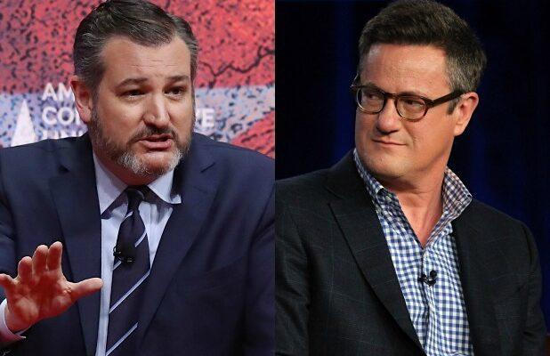 MSNBC's Joe Scarborough and Sen. Ted Cruz Trade Insults About Trump Support: 'You Sold Your Soul'