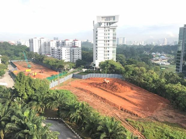 A view of what Taman Desa residents say shows the near completion of clearing works for both phase one and two of the project. — Picture courtesy of Protect Taman Desa