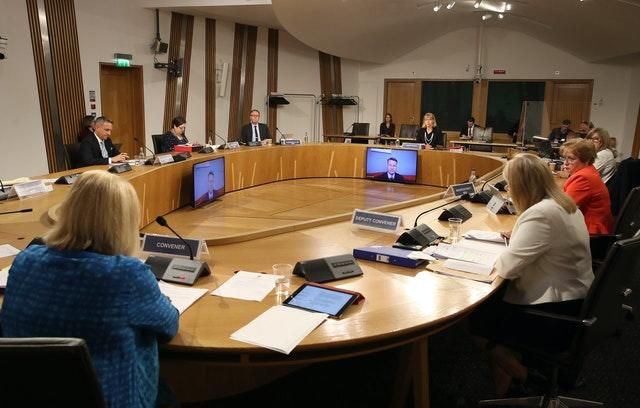 Harassment allegation committee hearing