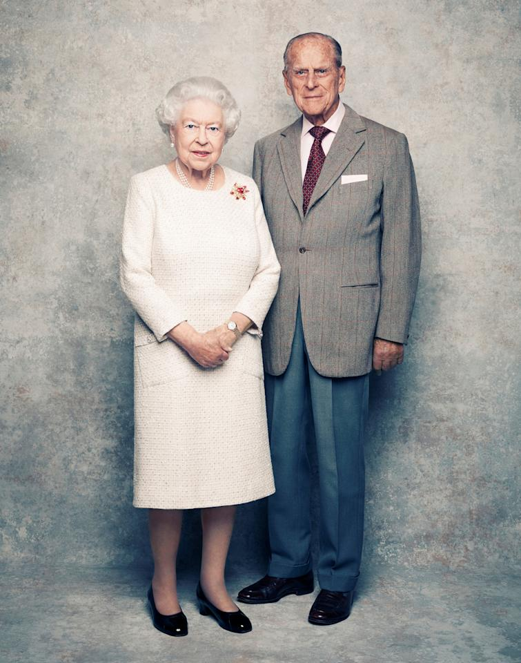 <p>The Queen isn't just Britian's longest running royal monarch but also boasts the longest marriage in the Royal family. To celebrate her 70 years of marriage to Duke of Edinburgh, Prince Philip, the palace released a handout photo with a platinum backdrop, to mark their platinum year. Here's a look back at their storied relationship from before their engagement in 1947 to present day. </p>