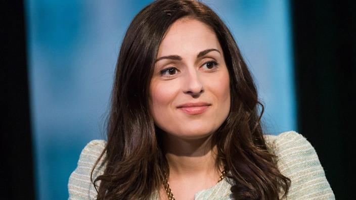 Mandatory Credit: Photo by Charles Sykes/Invision/AP/Shutterstock (9192724k)Farnoosh Torabi participates in AOL's BUILD speaker series to discuss her CNBC series