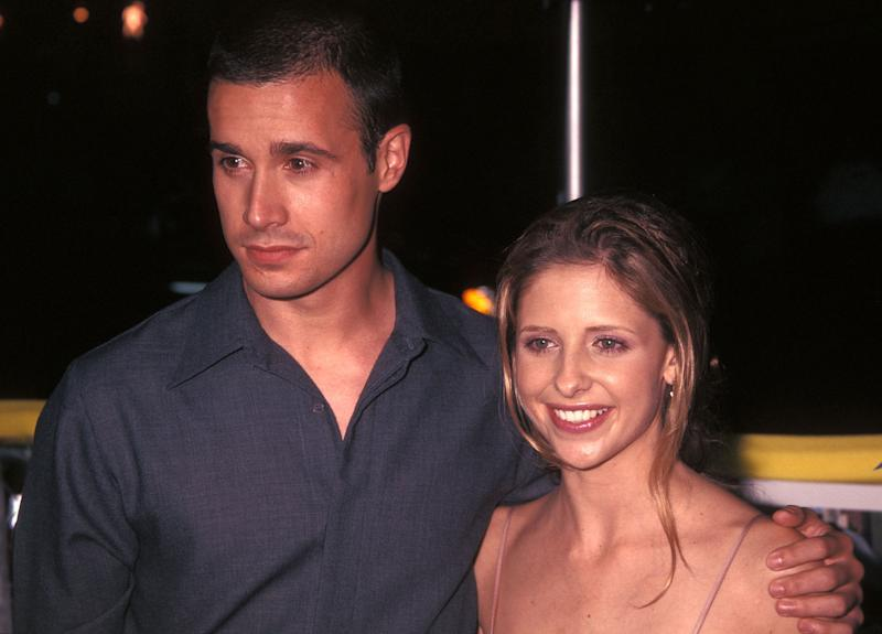 Sarah Michelle Gellar and Freddie Prinze Jr. went on their first date 20 years ago. (Photo: Getty Images)