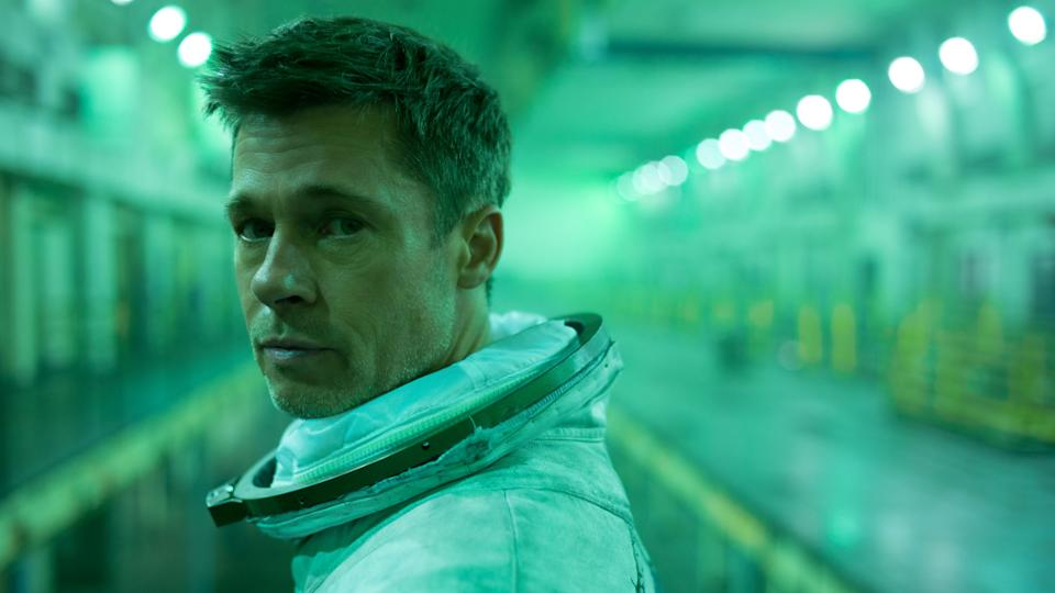 Brad Pitt plays a lone astronaut with family issues in James Gray's thoughtful sci-fi 'Ad Astra'. (Credit: 20th Century Fox)