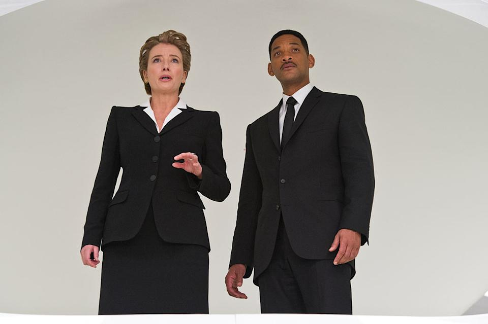 """Emma Thompson and Will Smith in Columbia Pictures' """"Men in Black 3"""" - 2012"""