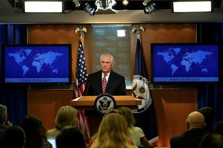 Tillerson says Trump 'speaks for himself' on racial violence