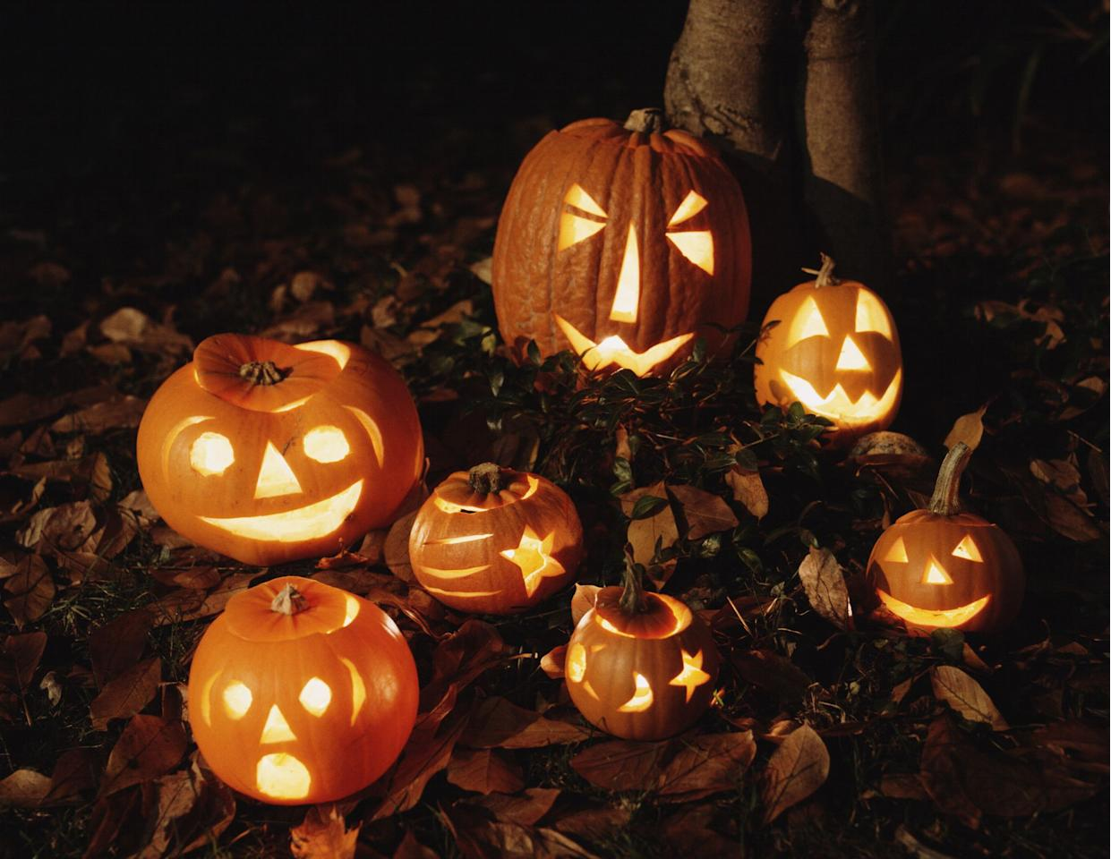 """<p>Halloween may look a little different this year, but no matter what your plans are, you can still get in a festive and spooky mood with a good ole rousing game of Halloween trivia with your family or Zoom trivia night with your friends. Don't forget to include your favorite <a href=""""https://www.countryliving.com/food-drinks/g1029/halloween-treats-for-kids/"""" target=""""_blank"""">Halloween treats</a>, and of course you'll have to wear your <a href=""""https://www.countryliving.com/diy-crafts/g4571/diy-halloween-costumes-for-women/"""" target=""""_blank"""">best costume</a> for the occasion. (No time for a <a href=""""https://www.countryliving.com/diy-crafts/g23785711/last-minute-halloween-costumes/"""" target=""""_blank"""">last-minute Halloween costume</a>? A funny <a href=""""https://www.countryliving.com/shopping/g32908775/coronavirus-halloween-fabric-face-mask/"""" target=""""_blank"""">Halloween coronavirus face mask</a> will do!)</p><p>Test your fellow ghouls and witches to see if they really know whose ghost is said to haunt the halls of The White House, or where we got the idea for trick-or-treating and <a href=""""https://www.countryliving.com/diy-crafts/g279/pumpkin-carving-ideas/"""" target=""""_blank"""">pumpkin carving</a>. Impress your friends with your knowledge of Halloween candy and which states have banned certain costumes. You'll want to keep the fun going by reciting your favorite <a href=""""https://www.countryliving.com/life/entertainment/g22144934/witch-quotes/"""" target=""""_blank"""">witch</a> and <a href=""""https://www.countryliving.com/life/g28452084/vampire-quotes/"""" target=""""_blank"""">vampire quotes</a> and resurrect the Sanderson sisters with a post-trivia <a href=""""https://www.countryliving.com/life/entertainment/g3624/best-halloween-movies/"""" target=""""_blank"""">Halloween movie</a> night. Maybe even tell some of your best <a href=""""https://www.countryliving.com/entertaining/a32963261/halloween-jokes/"""" target=""""_blank"""">Halloween jokes</a>. Keep the competitive spirit going with a pumpkin carving contest.  And f"""