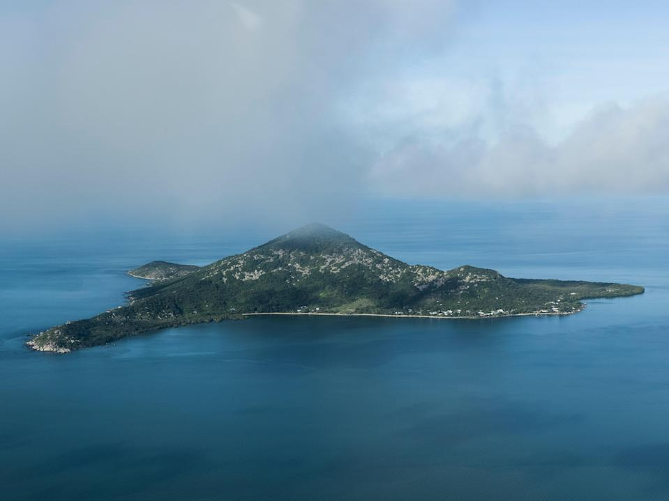 Duan Island, one of more than 250 islands that make up the Torres Strait, a body of water separating the Cape York Peninsula and the southern coast of Papua New Guinea (Brook Mitchell/Getty)