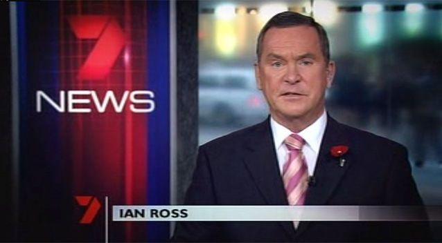 With more than 50 years of broadcast journalism behind him, Ian Ross was the anchor of Seven's top-rating 6pm news bulletin in Sydney from 2004 to 2009.