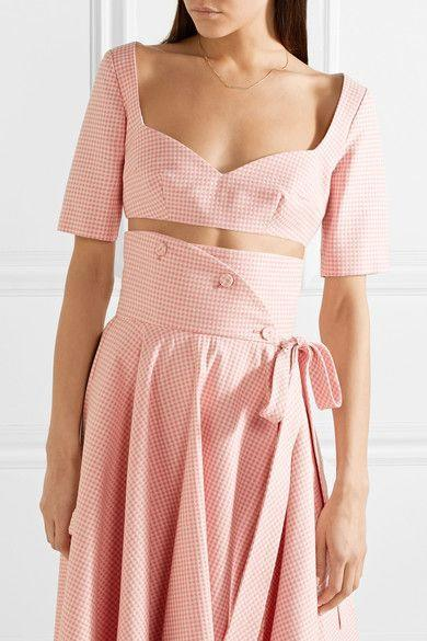 Don't tell the others, but we're partial to gingham in pink. Available in sizes IT 38 to 48.