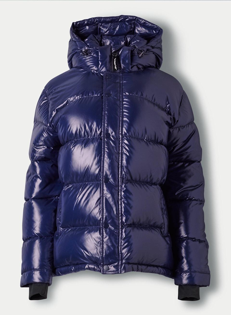 "<p>""<span>Aritzia's Super Puff Jacket</span> ($250) is the ultimate puffer. With 100 percent sustainably-sourced goose-down, this jacket is designed to keep you warm in sub-zero temperatures, while the design - especially this high-gloss finish - is undeniably cool."" </p>"
