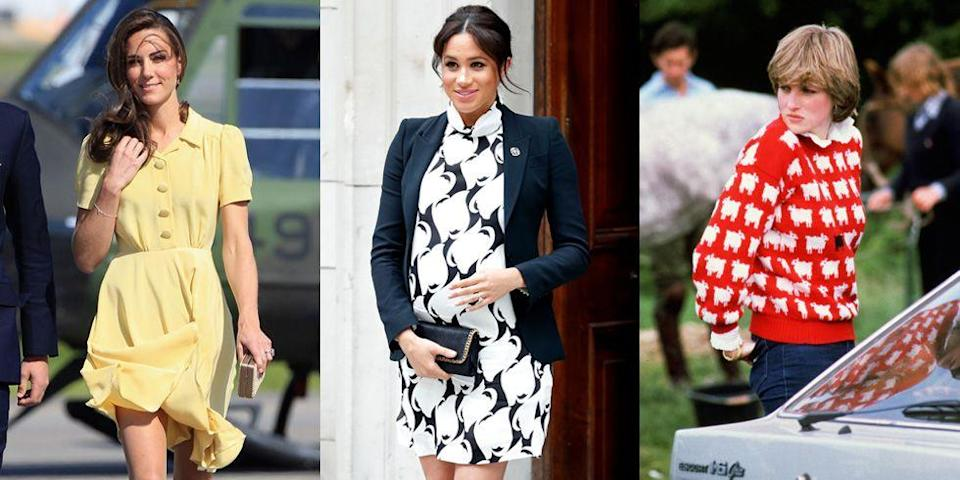 <p>When a member of the royal family steps out in public, their fashion choices are guaranteed to make headlines...but sometimes for the wrong reasons. (Even the Queen has experienced the occasional sartorial misstep!) From revealing necklines to accidental faux pas, we rounded up the most controversial royal fashion moments in history, ahead. </p>