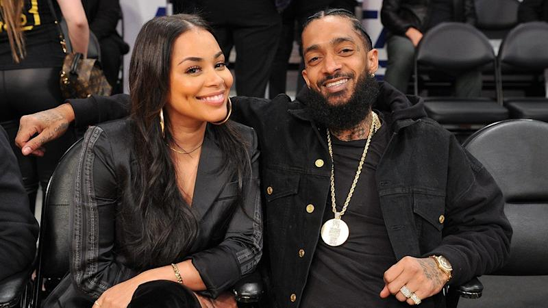Lauren London says the son she shares with late rapper Nipsey Hussle is everything they prayed for and more.