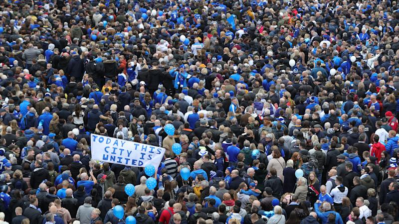 <p>The walk was called 5,000-1 as a reminder of the odds of Leicester winning the Premier League in 2016.</p>