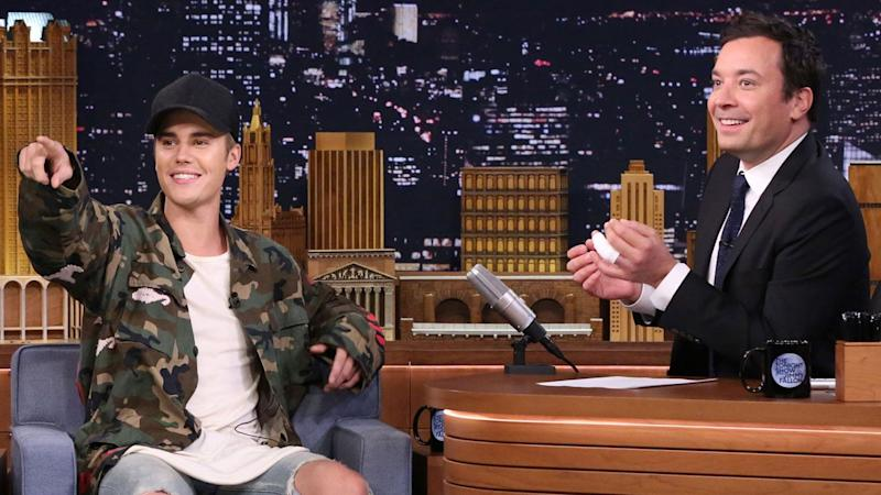 Justin Bieber Goes Incognito While Filming in NYC With Jimmy Fallon