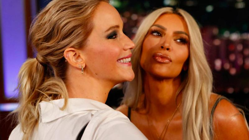 Jennifer Lawrence Jokes That Despite Her Love for Kim Kardashian, 'It's Probably a One-Sided Friendship'